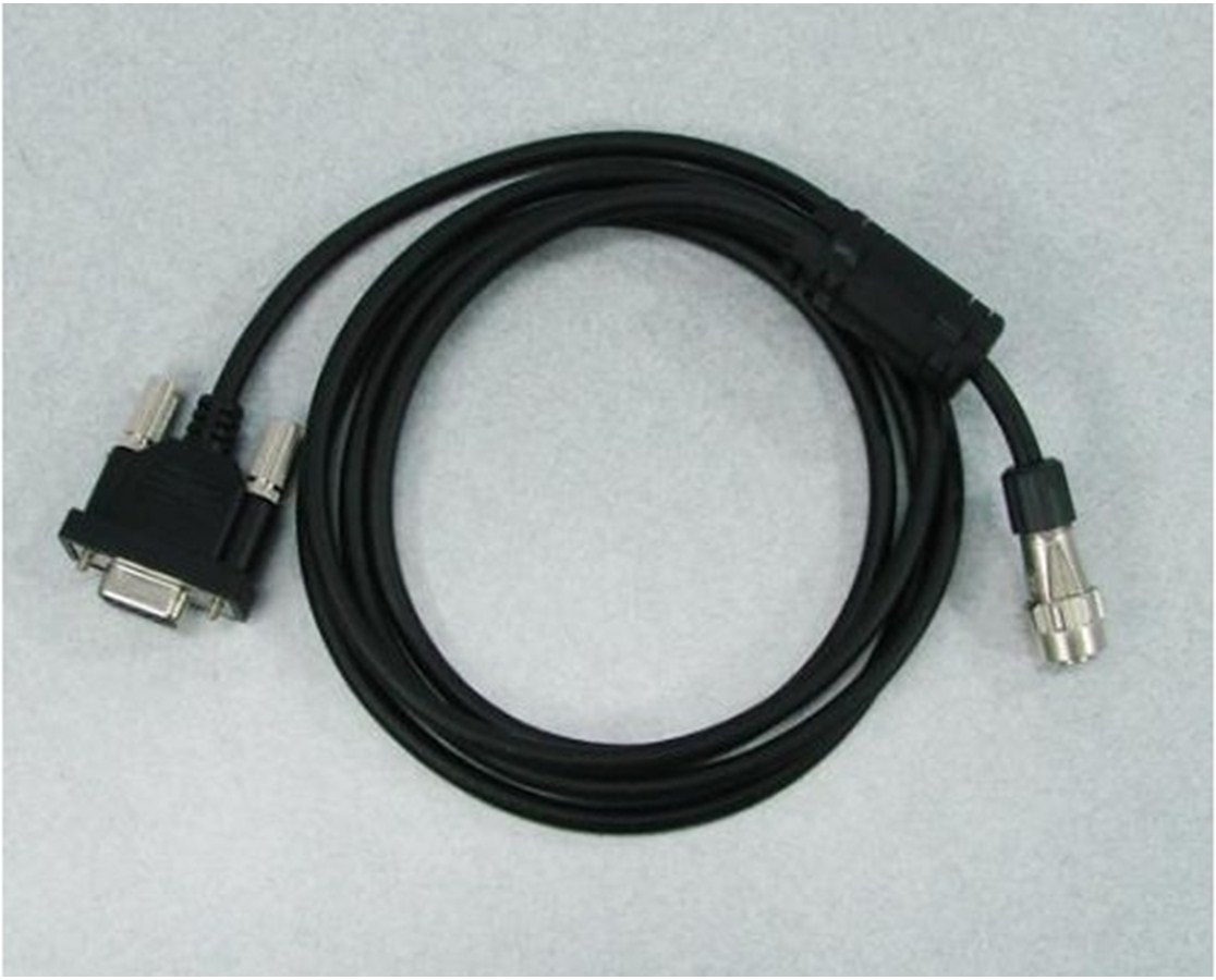 Topcon DOC210 PC Cable and D-Sub 9-Pin Connector TOP221321000