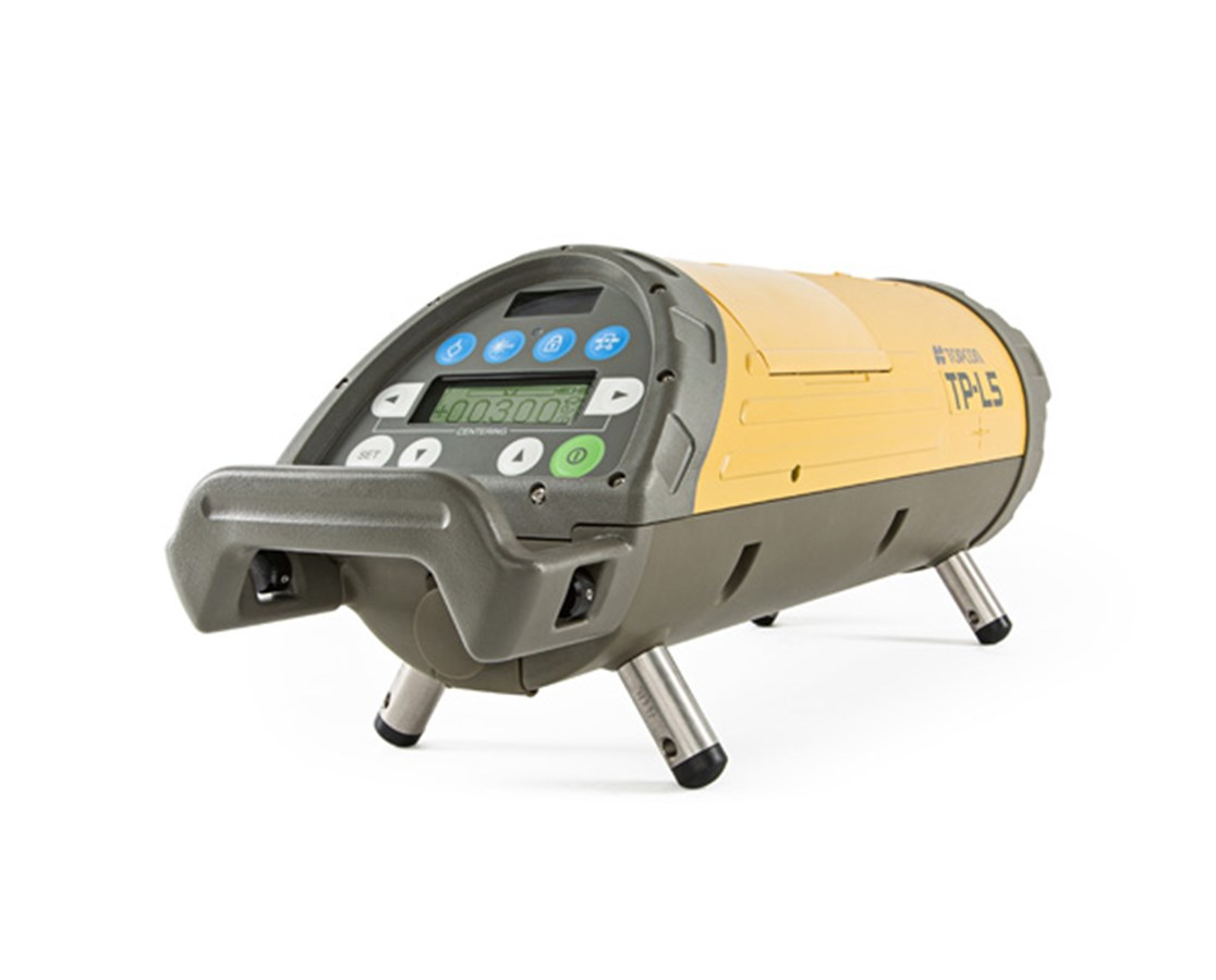 Topcon TP L5G Green Beam Pipe Laser with LED Plumb