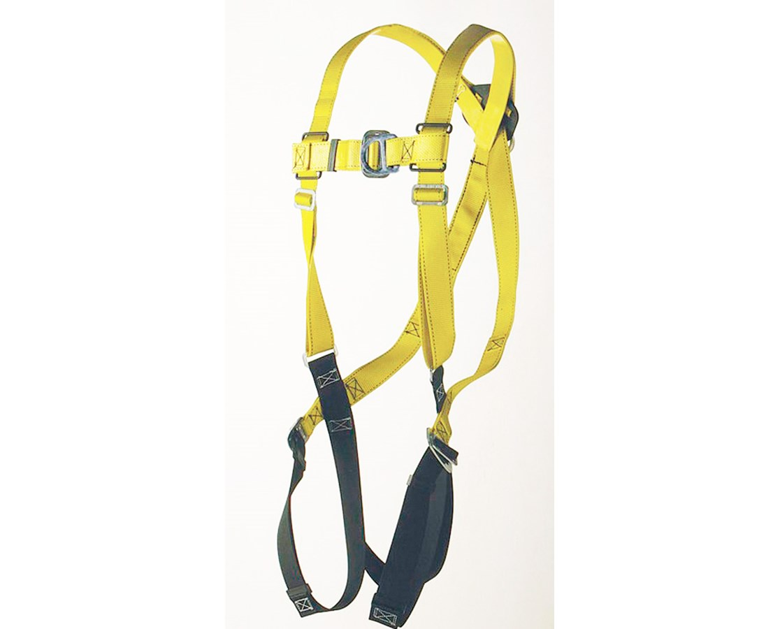 Ultra-Safe Full Body Harness Climbing Type with D-rings at the Center Back and Front ULT96305FB
