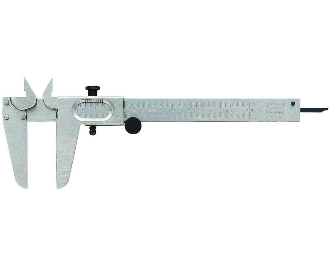 """Vernier 5"""" Slide Calipers 16th/32n V721"""