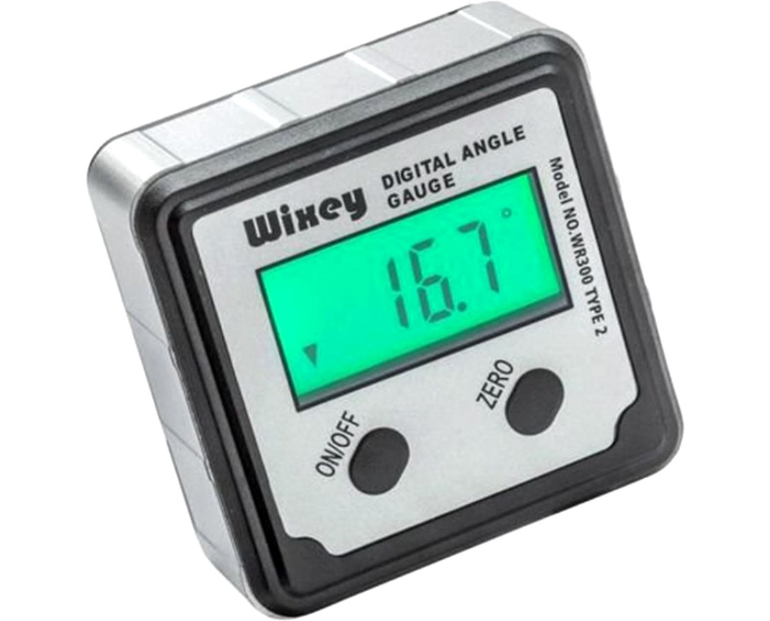 Wixey Digital Angle Gauge with Backlight Type 2  WIXWR300