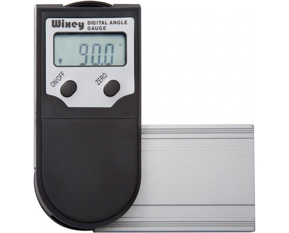 Wixey Digital Protractor   Wixey Digital Protractor Readout with Set Miter WIXWR400-