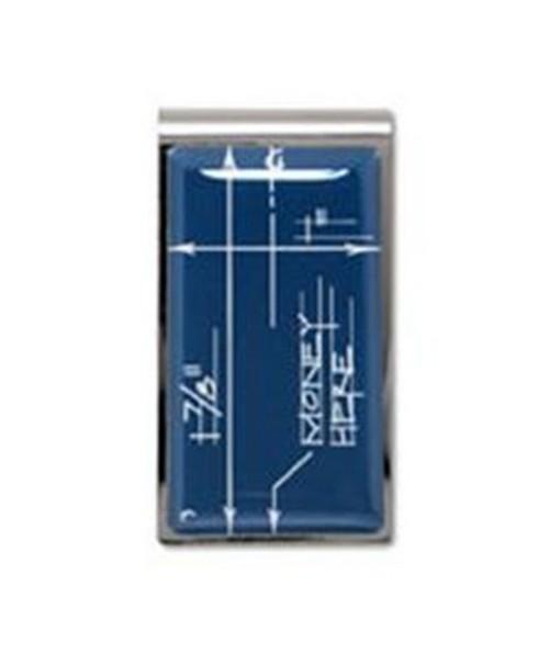 """Blueprint"" Money Clip ZCB01MC"