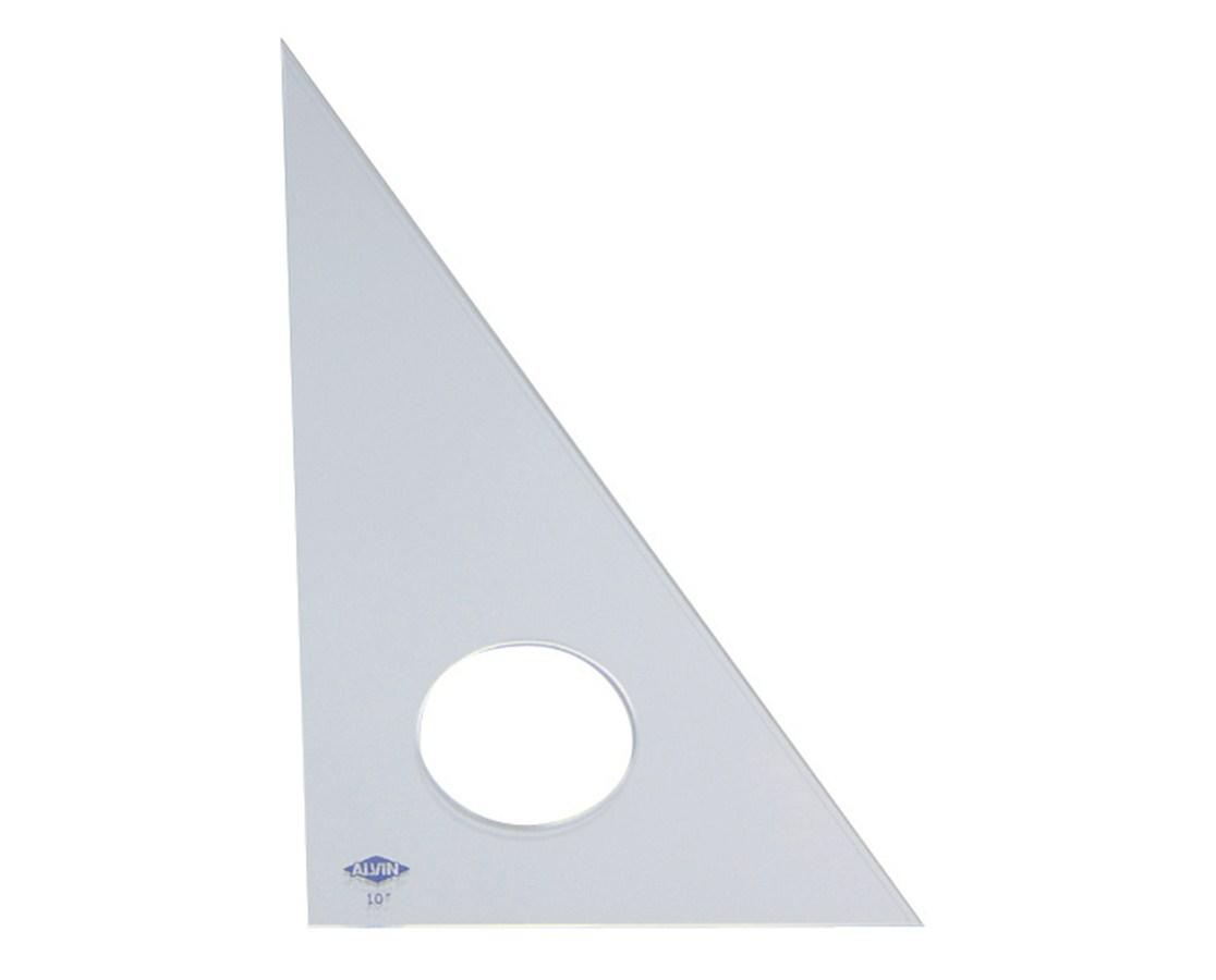 ALVIN® Professional Acrylic Triangles (30°/60° Clear Acrylic) alv130