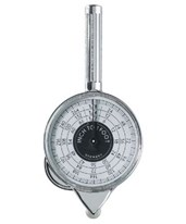 Alvin 2 Sided Inch Counter Wheel with Handle 1117