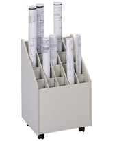 Safco Mobile Upright Roll File 3082