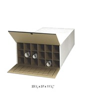 Safco Storage Roll File (Qty. 2) 3094