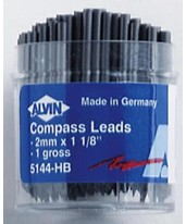2mm Compass Leads HB, 144/pk 5144-HB
