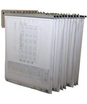 Adir Pivot Wall Rack with Hangers 617