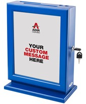 Adir Customizable Wood Suggestion Box 632