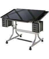 Alvin CraftMaster II Glass Drafting Table CM48GL