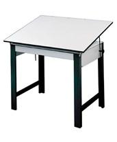 Alvin DesignMaster Black Base Drafting Table DM60ND-BK