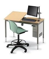Alvin Smith System Split-Top CAD Desk 27344