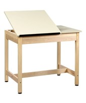 Alvin Shain Two-Piece Drawing Table DT-9SA30
