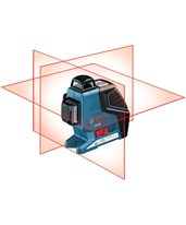 Bosch 3 Plane Leveling/Alignment Laser GLL 3-80