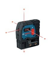 Bosch GPL5 5-Beam Laser Level GPL5