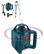 Bosch GRL 245 HVCK Self-Leveling Horizontal & Vertical Rotary Laser Kit 0601061910