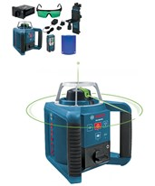 Bosch GRL300HVG Rotary Green Laser with Layout Beam GRL300HVG