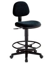 ALVIN Comfort Economy Drafting Task Chair Black CH277-40DH