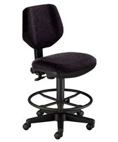 Alvin Comfort Classic Deluxe Drafting Task Chair CH290-60DH