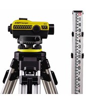 CST/Berger Auto Level Kit with Tripod and Rod 55-SLVP20ND