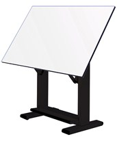 Alvin Elite Black Base Drafting Table ET60
