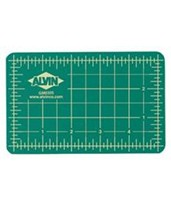 GBM Series Professional Cutting Mat - Green/Black (Gridded, Ships Rolled) GBM4080