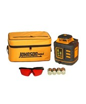 Johnson Horizontal Vertical Rotary Laser Level 40-6527