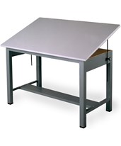 Mayline Economy Ranger Steel Four-Post Table 7726