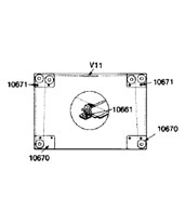 Mayline Conversion Kit Straightedge Accessory 7302D