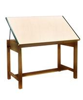 Mayline Ranger Drafting Table Golden Oak 7706