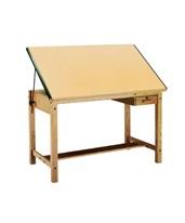 Mayline Ranger Drafting Table Natural Oak 7706