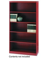 "Mayline Aberdeen Series 5 Shelf 36"" Wide Bookcase AB5S36"