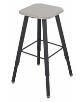 Safco AlphaBetter Adjustable-Height Student Stool 1205BE