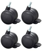 Safco Hard Floor Casters for AlphaBetter (Set of 4) 1211BL