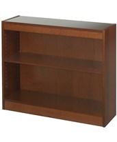 Multiple Adjustable Shelf Square-Edge Veneer Open Bookcase 1500 Series