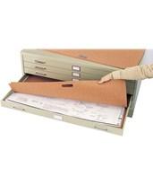 Safco Plan File Portfolio for Steel Flat File (Qty. 10) 3011