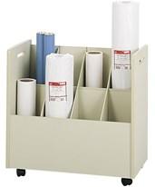 Safco Mobile Roll File 3045
