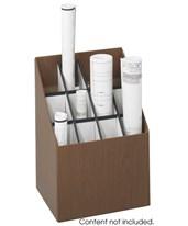 Safco Upright Fiberboard Roll File 3079