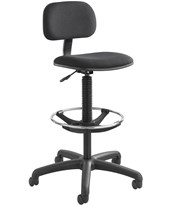 Safco Economy Drafting Chair Black 3390BL