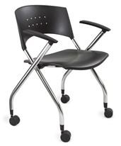 Safco Xtc Nesting Chair (Qty 2) 3480BL