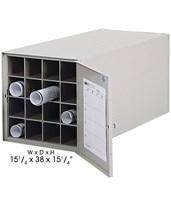 Safco 38-Inch Deep Steel Roll File 4960