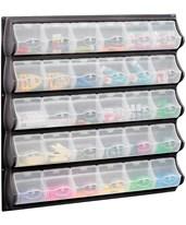 Safco 30 Pocket Panel Bins 6111BL