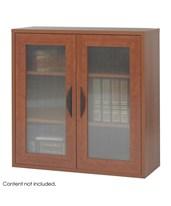 3 Adjustable Shelf 2 Door Bookcase 9442
