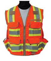 Seco 8265-Serries Class 2 Surveyors Utility Vest 8265