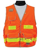 Seco 8063-Series Class 2 Surveyors Utility Vest with Outlast Liner 8063