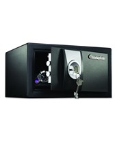 SentrySafe 0.3 cu. ft. Medium-Sized Security Safe With Key Lock X031