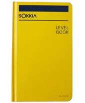 Sokkia Level Book 815255