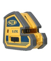 Spectra 5.2XL 5-Point and 2-Line Laser Level 5.2XL