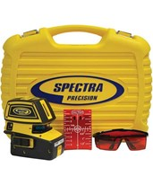 Spectra LT52 5-Point and 2-Cross Line Laser Level LT52